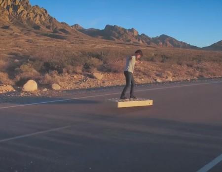 """Virale Idee """"Arcaboard ist das erste Hoverboard, das über jede Oberfläche gleiten kann"""""""