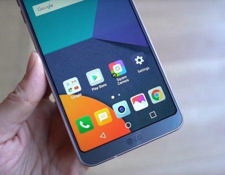 """LG G6 """"Nicole Scott von Mobilegeeks mit einem exklusiven Unboxing des neuen LG-Smartphones"""""""