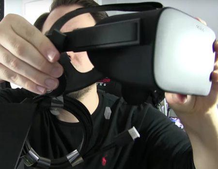 "Oculus Rift CV1 ""Gamer-Youtuber GameRiot mit einem Unboxing- & Setup-Video der ersten Oculus Rift"""