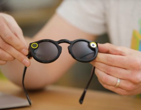 "Snapchat Spectacles ""Die Curved-Redaktion mit einem Unboxing- und Hands-On zur Snapchat's Spectacle-Brille"""