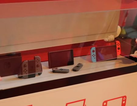 "Nintendo Switch ""Die Curved-Redaktion mit einem Hands-On zur Nintendo Switch"""
