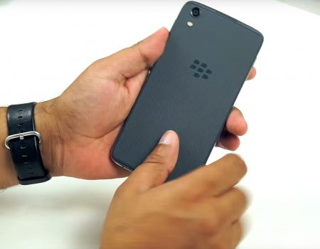 "BlackBerry DTEK50 ""Unboxing des Smartphones von Blackberry bei TechStage"""