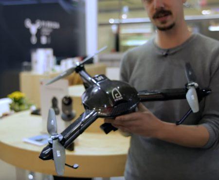 """Yi Erida """"Die 120-km/h-Drohne bei Curved mit einem Hands-On"""""""