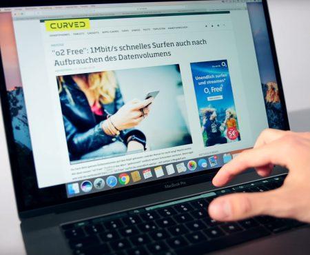 """MacBook Pro 2016 """"Das neue Macbook aus dem Hause Apple bei Curved im Test"""""""